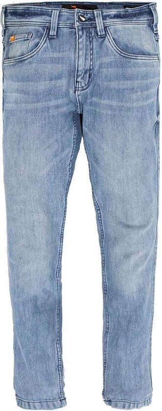 SA1NT Unbreakable Stretch Slim Jeans - Light Bleach-36/32