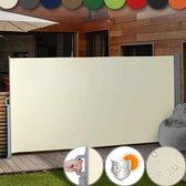 Miadomodo Windscherm Uittrekbaar – Weerbestendig – Zonnescherm met UV Bescherming – Tuin Meubelen – Camping Artikelen – Zomer – Ruimtebesparend en Makkelijk te Installeren - Meerdere Kleuren – 180 X 300 cm