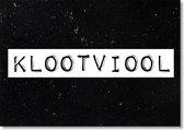 Black and White Cards - Klootviool