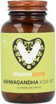 Vitaminstore  - Ashwagandha KSM-66® (ashwaganda) - 60 vegicaps