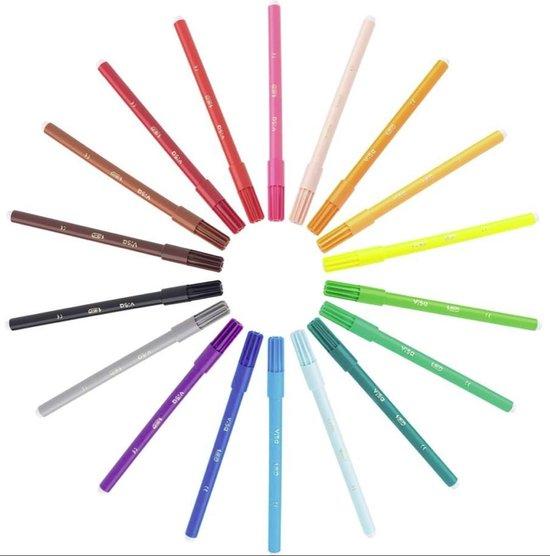 Afbeelding van 12 BIC Kleurstiften - Viltstiften