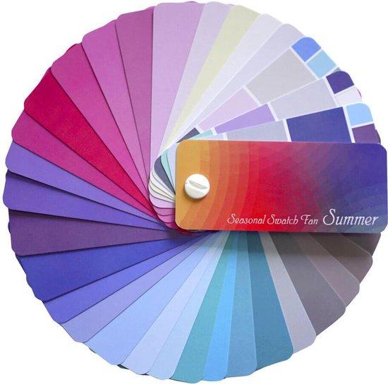Kleurenwaaier Zomertype