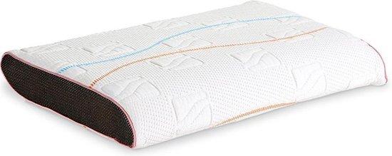 M line hoofdkussen Pillow You Roze - Traagschuim - Zijslaper