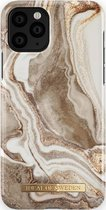 iDeal of Sweden Fashion Case iPhone 11/XR Golden Sand Marble