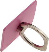 Ring Stent - Universele kickstand telefoonbutton ring – Roze