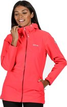 Regatta - Women's Hamara III Lightweight Waterproof Hooded Walking Jacket - Jas - Vrouwen - Maat 44 - Roze