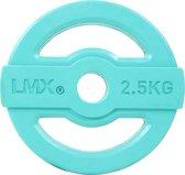 Body pump schijf 30mm 2,5 kg - blauw