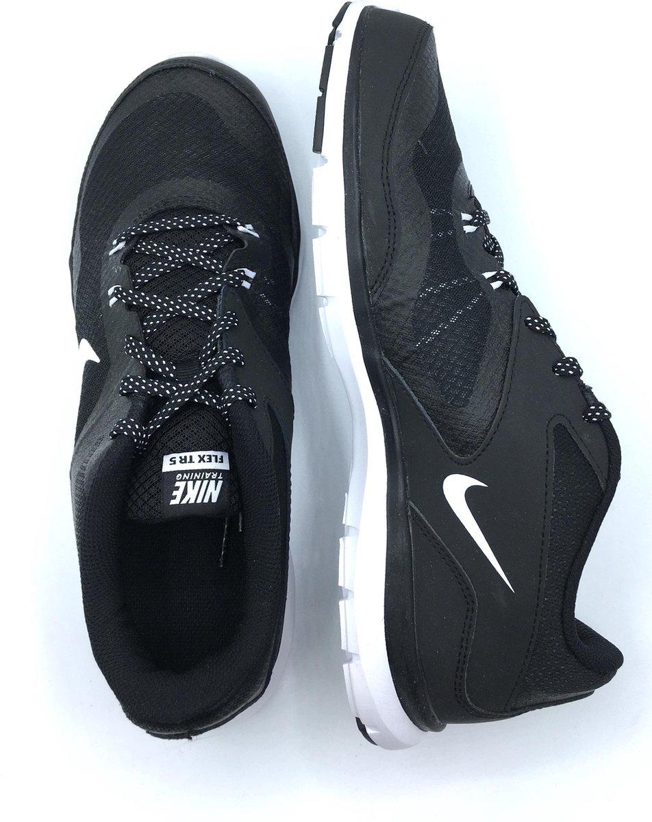 Nike Womens Flex Trainer 5 Sportschoenen Dames Maat 42,5 Zwart