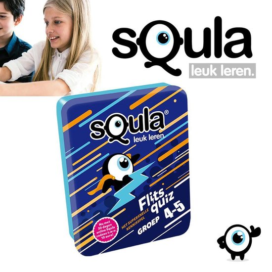Afbeelding van het spel Squla Het Supersnelle Kennisspel - Groep 4-5