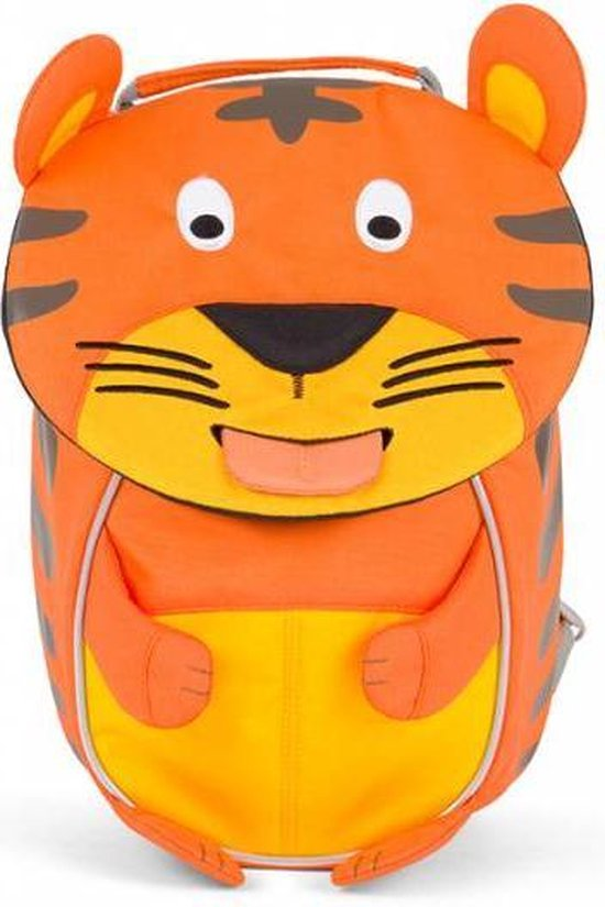 Affenzahn Timmy Tiger- Rugzak - Kinderen - Oranje