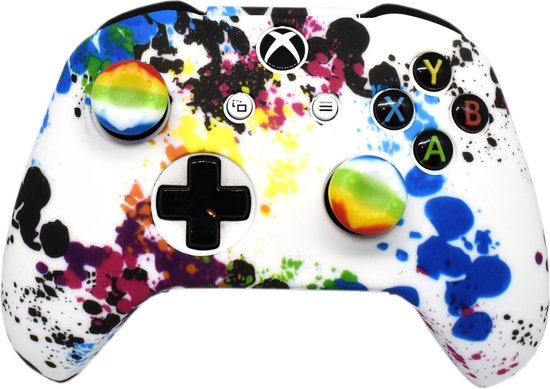 Xbox One Controller Skin | Controller hoesje + Thump grips | Sprinkle