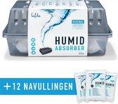 Lafita Vochtvanger Starterset 900 gram - Voordeelpakket met 12 Navullingen ! - Refresh Your Life