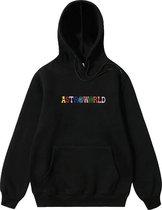 Travis Scott Astroworld Hoodie - Embroidered - Maat XL