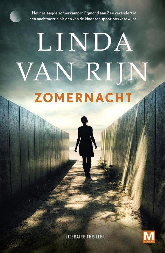 Boek cover Zomernacht van Linda van Rijn (Onbekend)