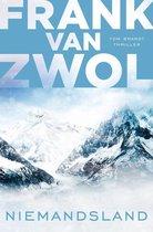 Boek cover Tom Brandt 2 - Niemandsland van Frank van Zwol (Onbekend)