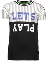 B.Nosy Jongens T-Shirt - Black - Maat 146/152