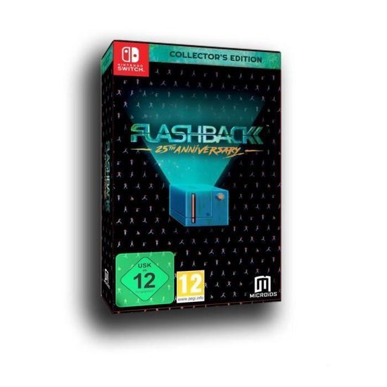 Flashback 25th Anniversary (Collector's Edition) (Nintendo Switch) - Mindscape