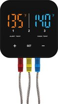 Patton Emax - Bluetooth Smart thermometer III - incl. 3 RVS probes