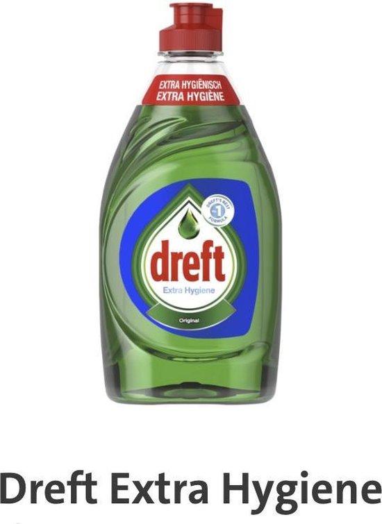 Huis & Schoonmaak     |     Wassen & Schoonmaken     |     Afwasmiddel     |Dreft Extra Hygiëne Original Afwasmiddel  Dreft Extra Hygiëne Original Afwasmiddel - 8x 450ml - Voordeel