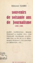 Souvenirs de soixante ans de journalisme