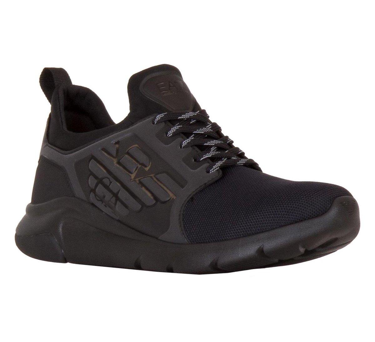 EA7 A Racer Reflex CC Sneakers - Maat 41 1/3 - Mannen - zwart uk6Kl