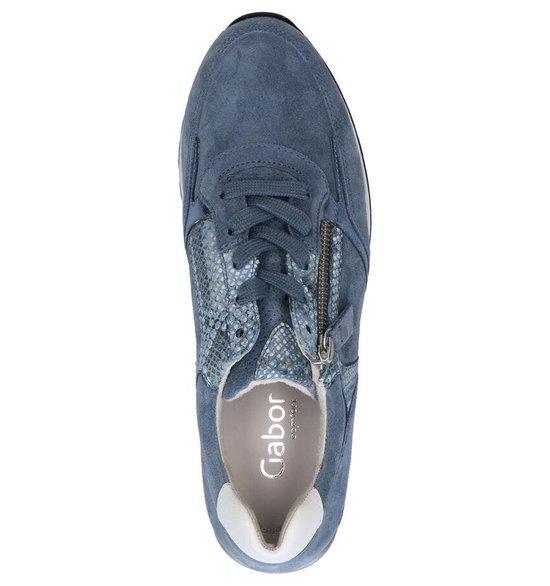 Gabor Optifit Blauwe Sneakers Dames 37 ZdNLxP