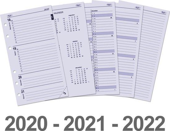 Afbeelding van Kalpa 6217-20-21-22 Personal-Standaard organizer week agenda NL 2020 - 2021 - 2022