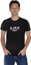 Ajax-t-shirt zwart Ajax Amsterdam