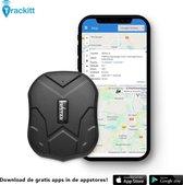 TRACKITT GPS Tracker met Magneet - LIVE VOLGEN Van Voertuigen / Auto / Motor / Boot | Waterdicht | Krachtige accu tot 90 dagen standby | Voor IOS En Android