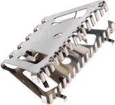 10x Bijenbekjes/stootvoegroosters RVS 7 cm/70 mm - Stootvoegbeschermers - Ongediertebestrijding voor de spouwmuur
