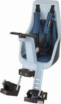Bobike Exclusive Mini Plus Fietsstoeltje - Stuurbevestiging - Denim Deluxe