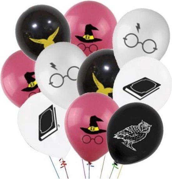 Tovenaar Harry Ballonnen - 10 Stuks - Dreuzel Verjaardag