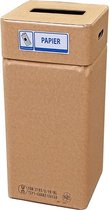 Afvalbak karton, Afvalbox papier (herbruikbaar)
