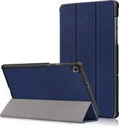 Lenovo Tab M10 FHD Plus TB-X606F Hoesje - Tri-Fold Book Case - Blauw