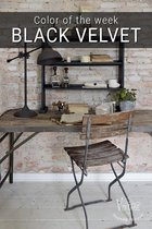 Krijtverf- Black Velvet- Furniture & Wall paint -Jeanne d' Arc Living Vintage Paint - 700 ML
