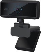 Webcam (1080p) HD  - Op computer - Webcam voor pc - Webcamera - Vergaderen - Werk & Thuis - USB - Microfoon - Windows & Mac