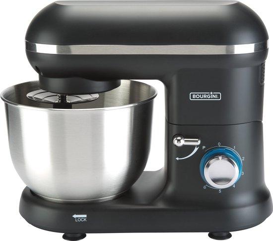 Bourgini Classic Kitchen Chef - Zwart (1250 Watt, 4,5 liter)