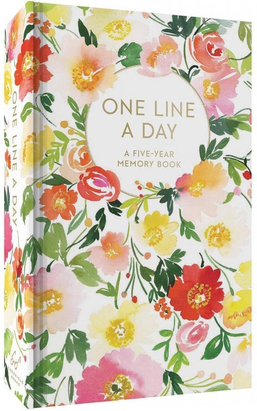 Afbeelding van Floral One Line a Day