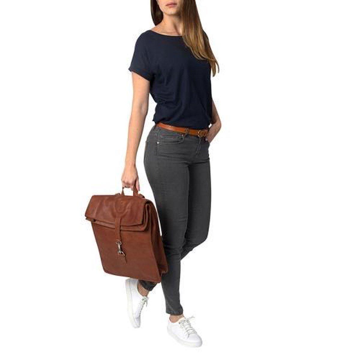 Cowboysbag Backpack Doral 15 inch Cognac