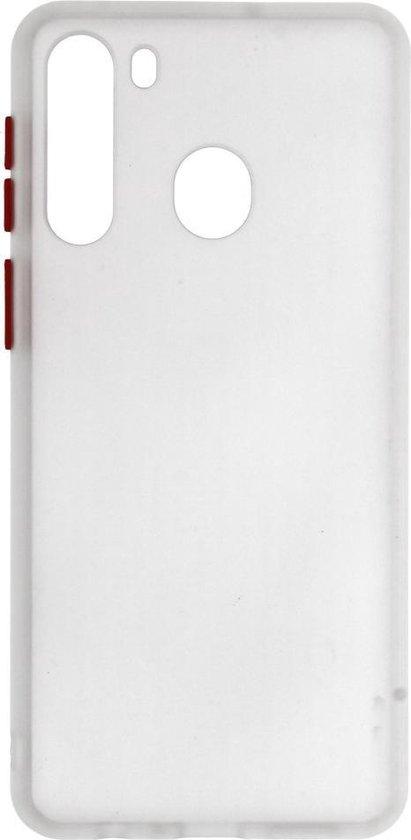 Kleurcombinatie Hard Case Samsung Galaxy A21 Transparant