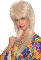 Damespruik Blondy blond