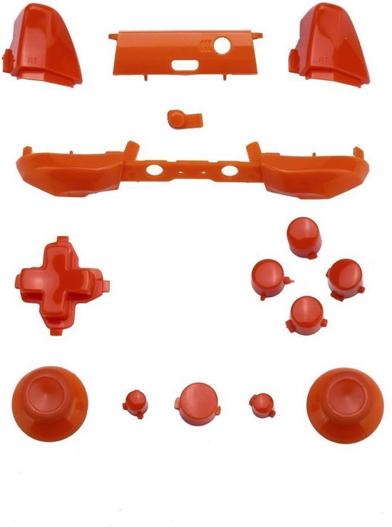 Xbox One Controller Buttons Pro Oranje