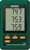 EXTECH SD200: 3-kanaals temperatuur Datalogger