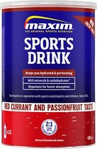 Maxim Sports Drink Red Currant and Passion Fruit - 480g