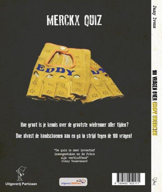 100 vragen over Eddy Merckx - Jamy Ivens  