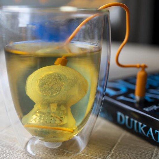 Theefilter duikmannetje voor losse thee
