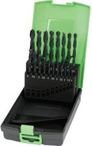 Reca Spiraalboor rolgewalst HSS set 1-10 mm x 0,5 mm kunststof box