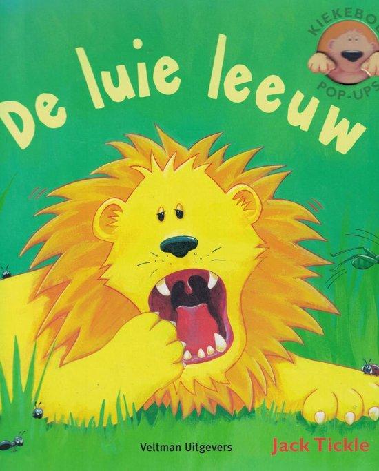 Cover van het boek 'De luie leeuw' van Jack Tickle