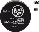 6x RedOne Haarwax – Aqua Hair Wax Zwart