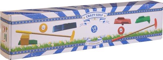Afbeelding van het spel Free And Easy Houten Golfset 10-delig